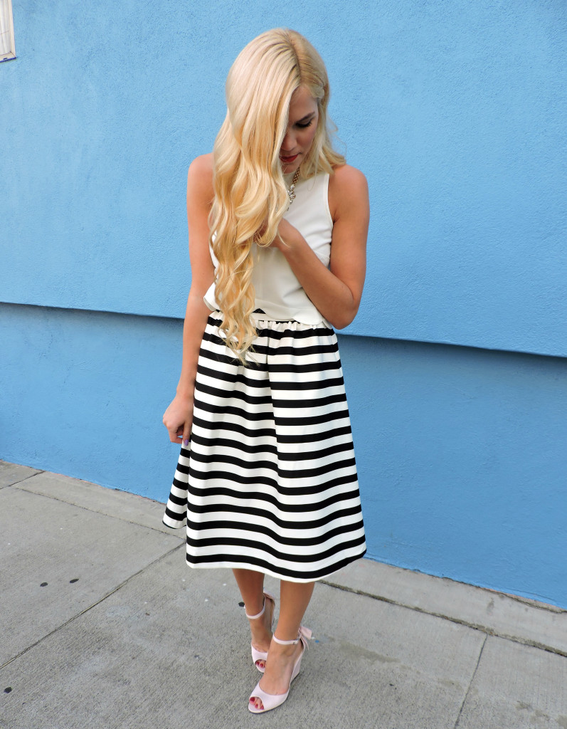 Striped Skirt 11