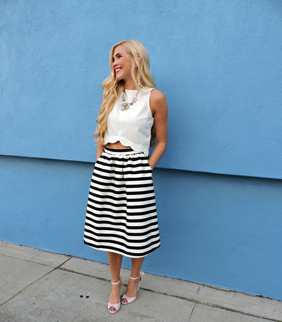 Striped Skirt 14