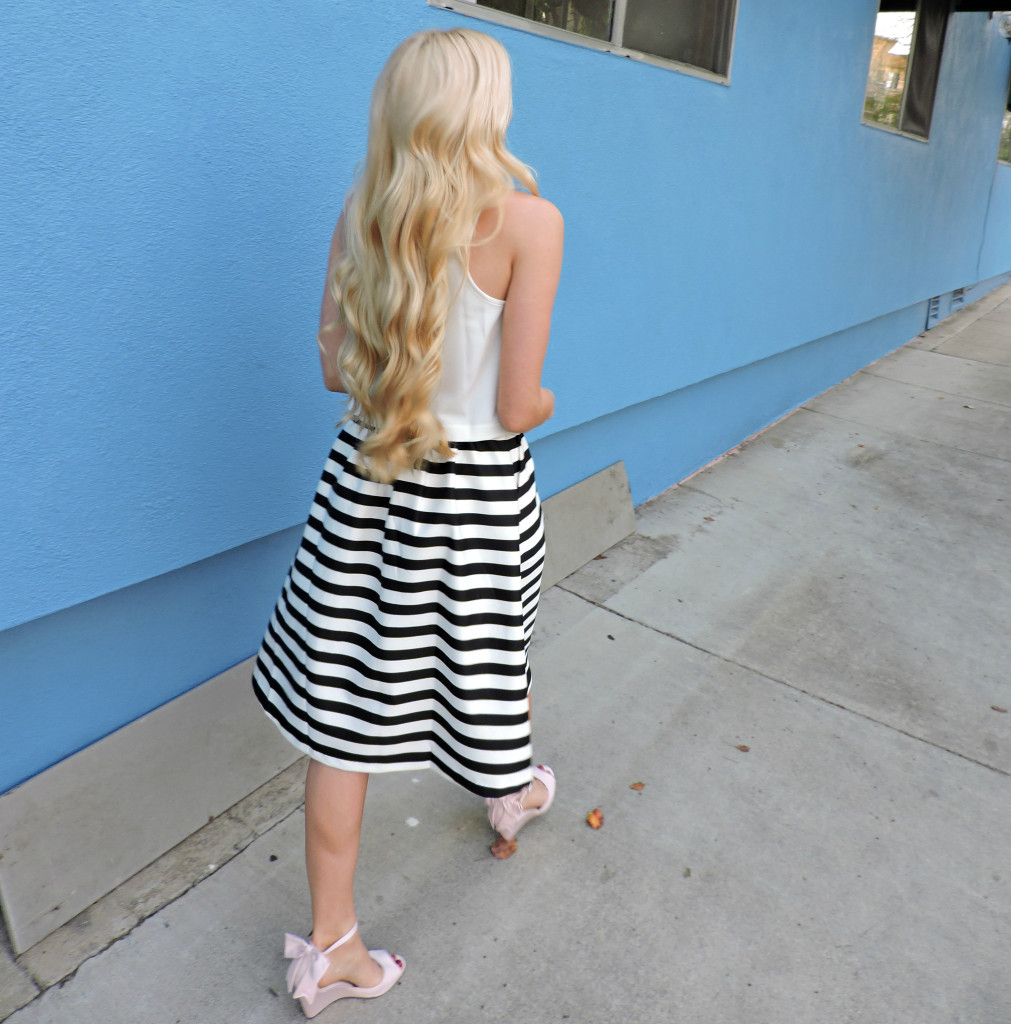 Striped Skirt 15