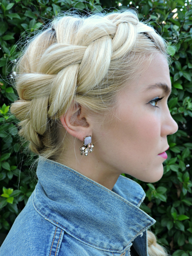 Thick Dutch Braid